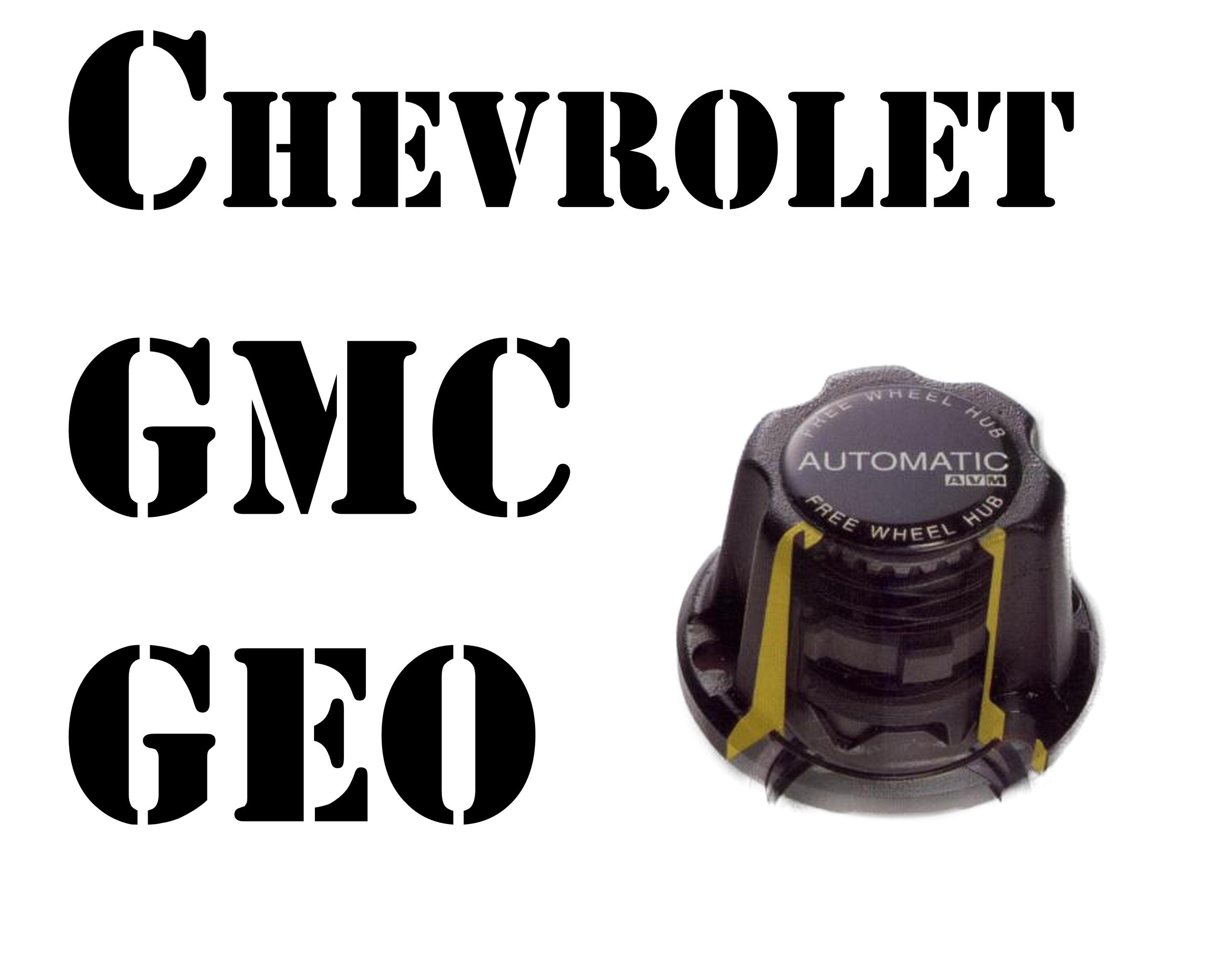 CHEVROLET / GMC / GEO