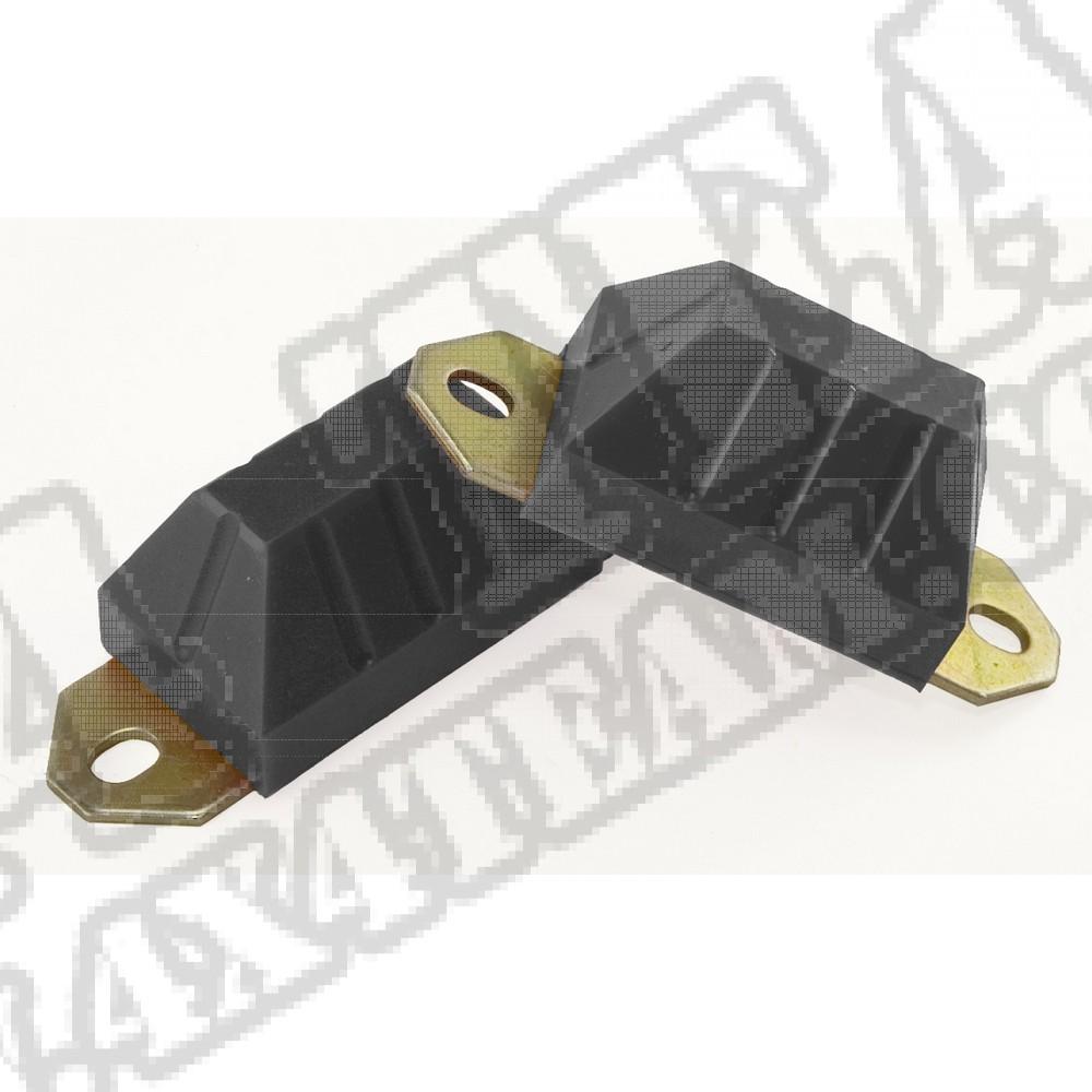 Axle Snubber Kit, Black; 76-86 Jeep CJ5/CJ7/CJ8 Scrambler