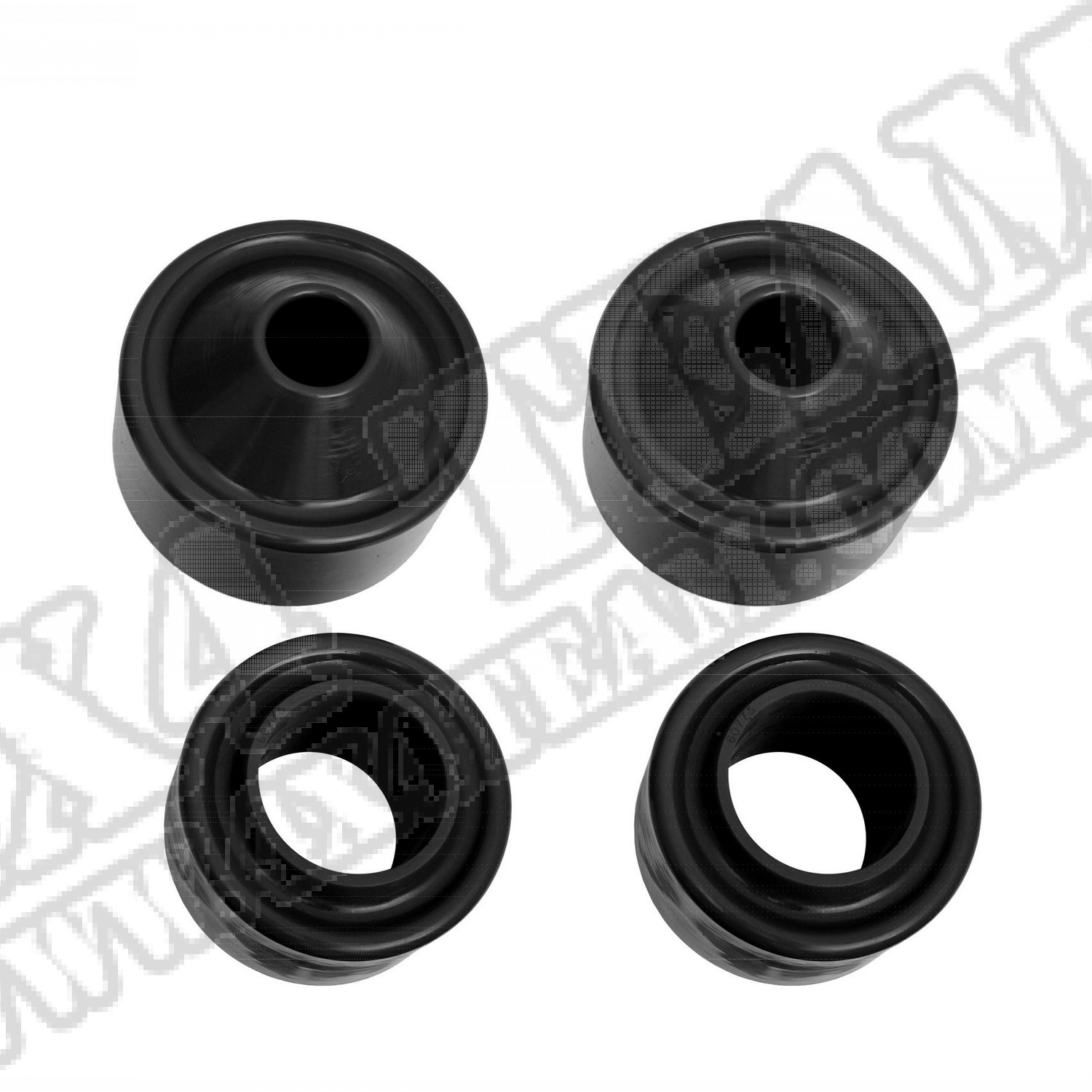 Suspension Coil Spring Spacer Kit, 1.75 Inch; 07-18 Jeep Wrangler JK