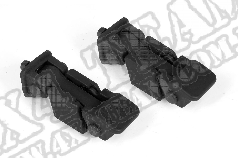 Zestaw klamer maski 07-15 Jeep Wrangler JK