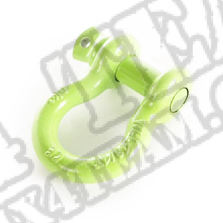 Szekla D, 3/4 cala, 9500 LBS, zielona