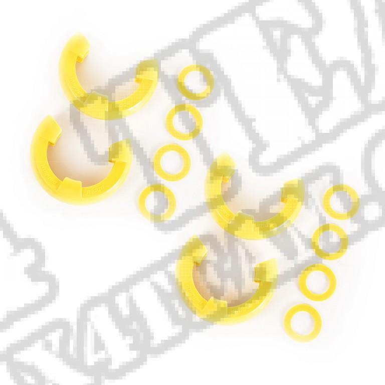 """Izolator szekli, żółty, dwie pary, 3/4"""""""