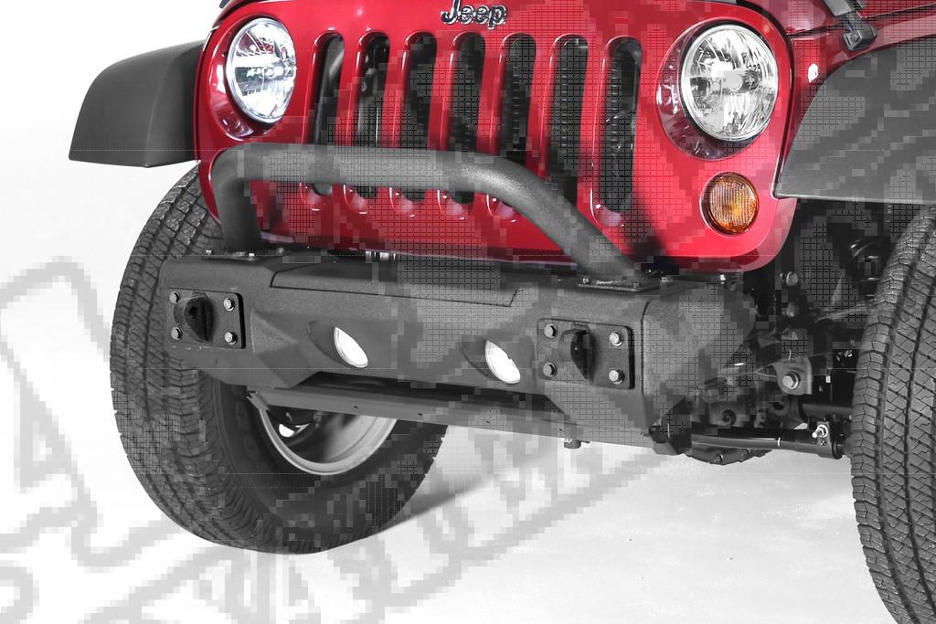 Zestaw zderzaka przedniego Allterrain; 07-18 Jeep Wrangler JK/JKU