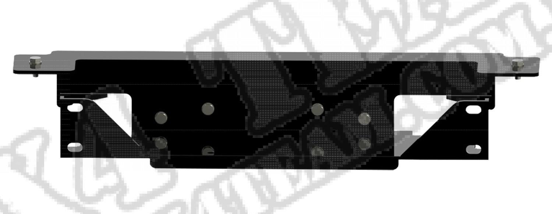 Płyta pod wyciągarkę Spartacus, 07-15 Jeep Wrangler JK