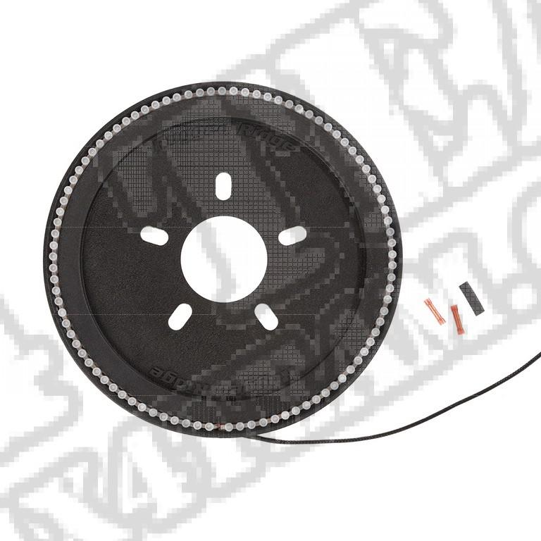 Lampa 3 światła stop mocowana pod kołem zapasowym Jeep Wrangler JL/JLU