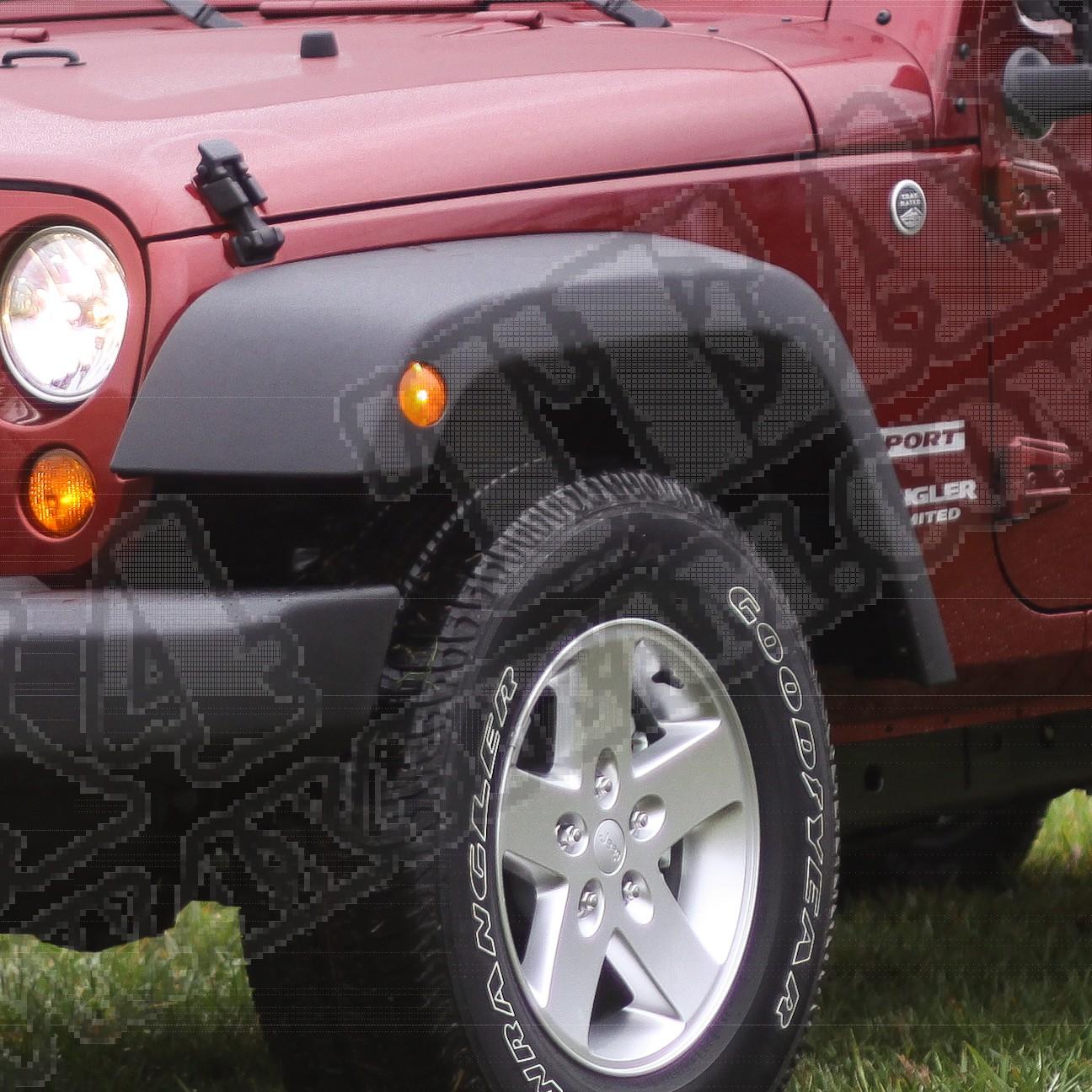 Nakładka błotnika lewy przód 07-15 Jeep Wrangler