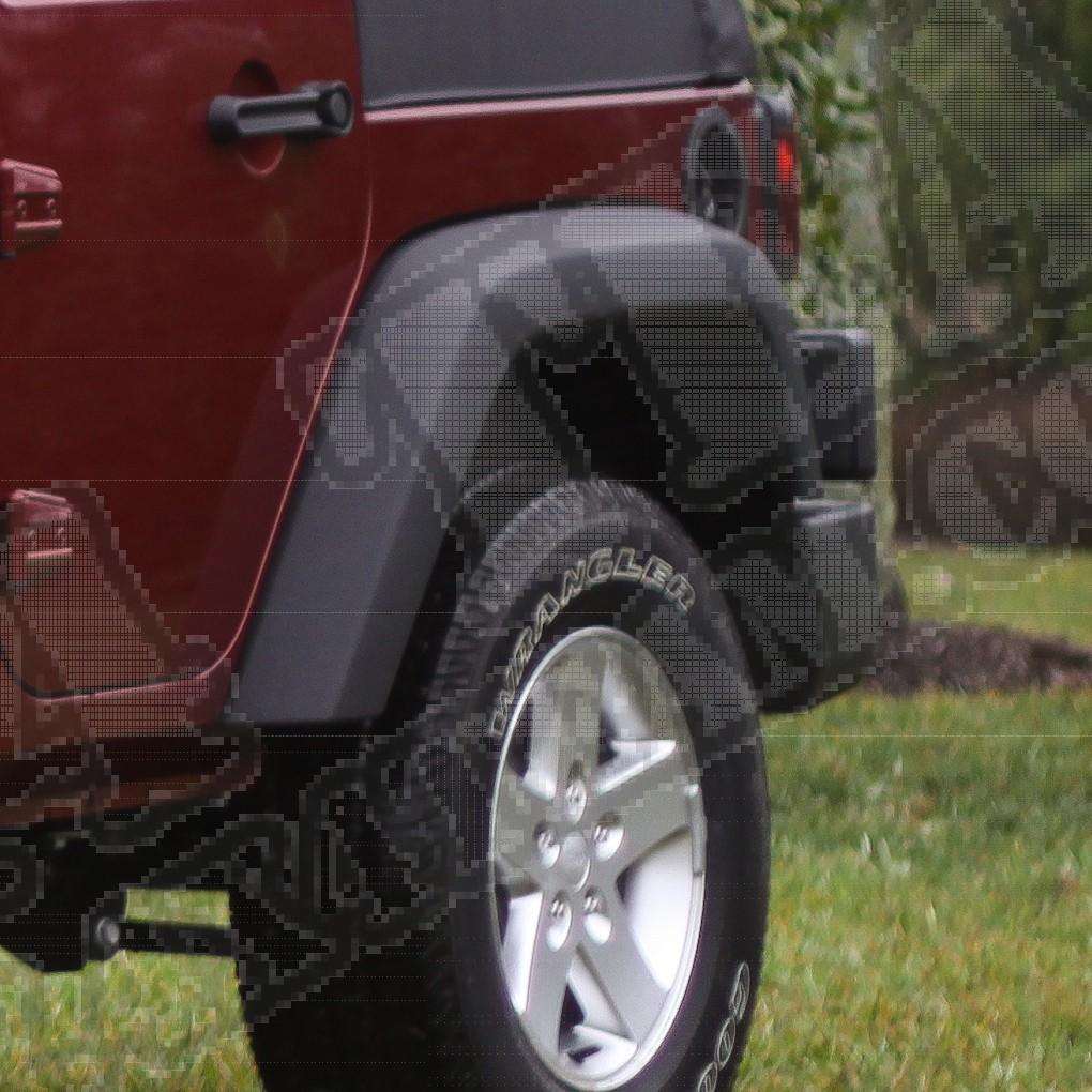 Nakładka błotnika prawy przód 07-15 Jeep Wrangler