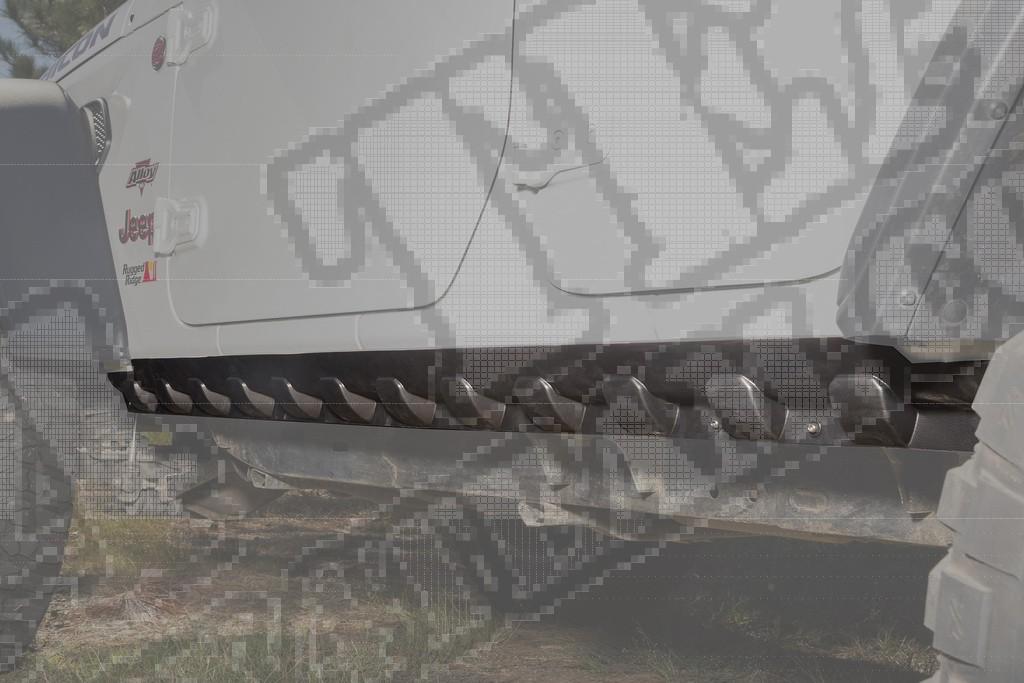 Osłona rantu nadwozia, 18-19 Jeep Wrangler JL, 4 drzwiowy