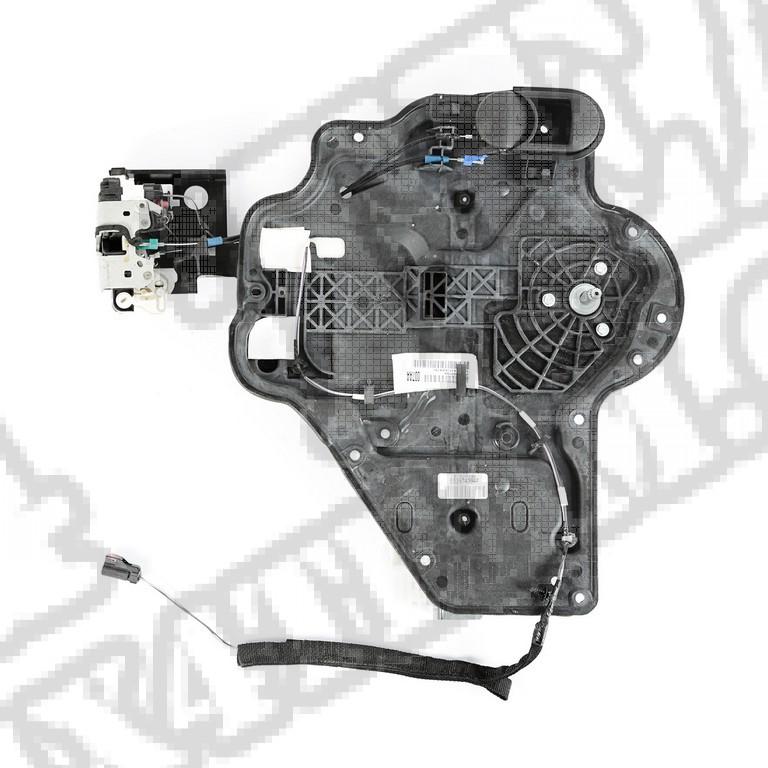 Płyta drzwiowa komplet, tył, lewy; 07-10 Jeep Wrangler Unlimited JKU