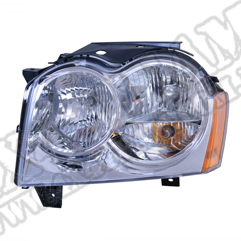Reflektor przedni lewy 05-10 Jeep Grand Cherokee WK