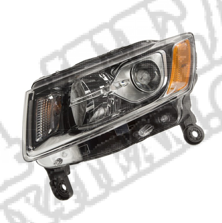 Reflektor lewy; 14-16 Jeep Cherokee KL
