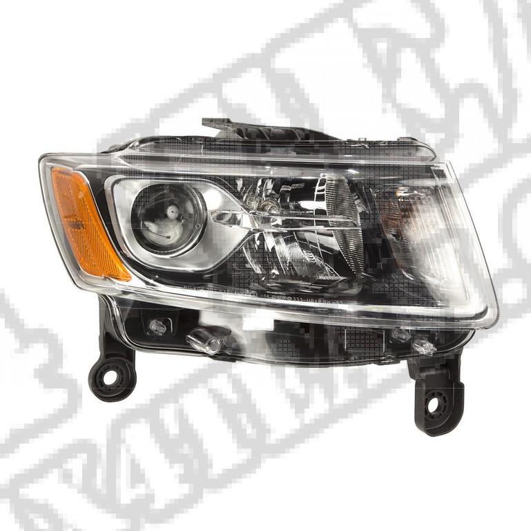 Reflektor prawy; 14-16 Jeep Cherokee KL
