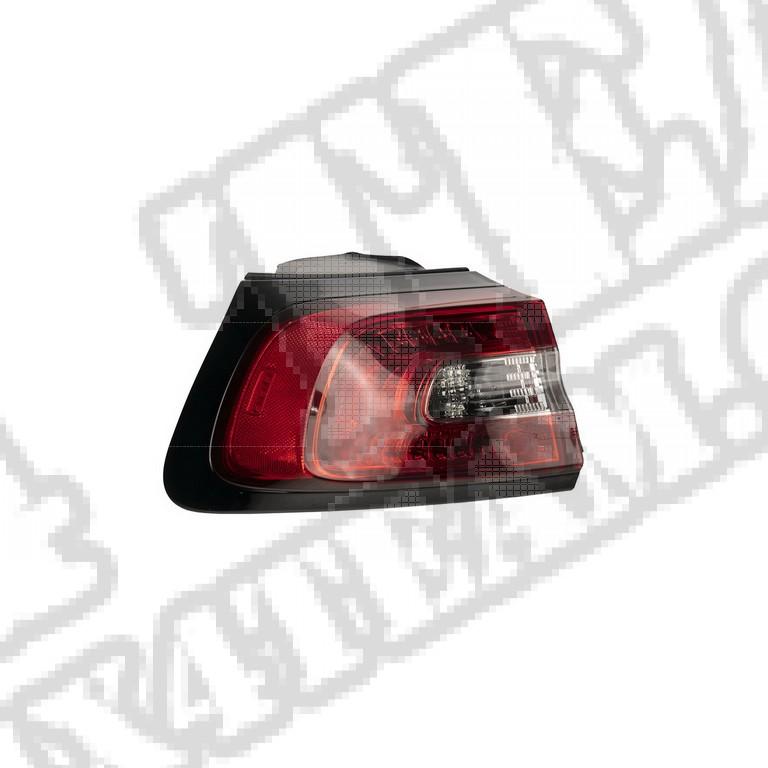 Lampa tylna lewa, zewnętrzna, 14-18 Jeep Cherokee KL