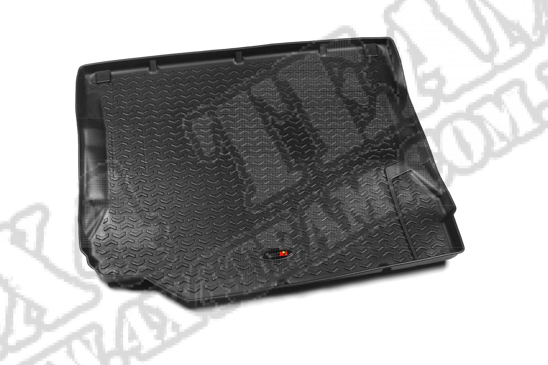 Dywanik bagażnika, czarny, 07-10 Jeep Wrangler/Unlimited (JK)