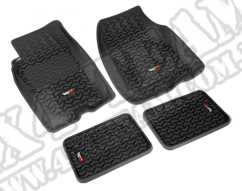 Zestaw dywaników, czarny, 93-98 Jeep Grand Cherokee (ZJ)