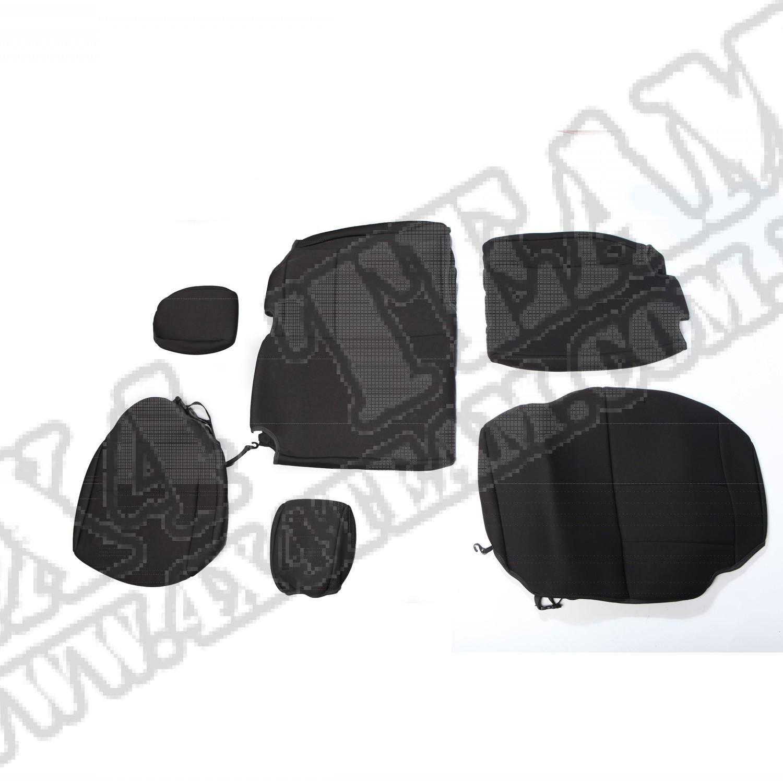 Pokrowiec tylnej kanapy czarny 07-15 Jeep Wrangler Unlimited JK