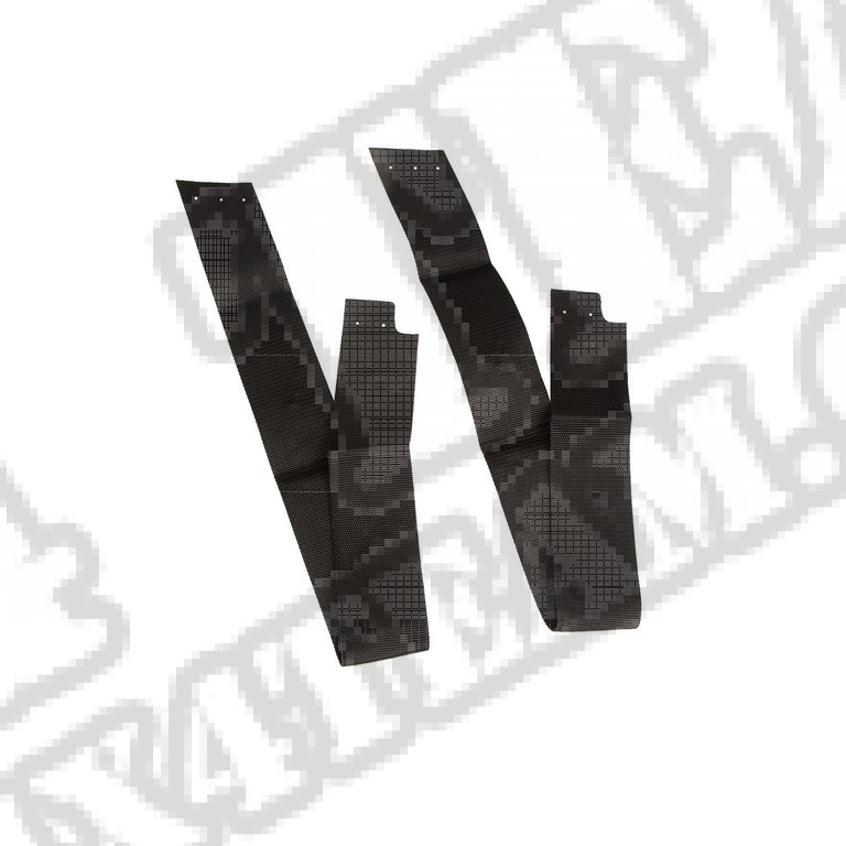 Zestaw serwisowy stelaża plandeki; 07-18 Jeep Wrangler JK, 2 drzwiowy