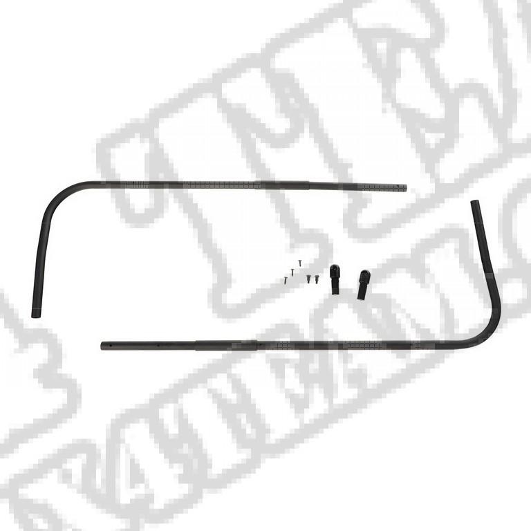 Pałąki drzwiowe stelaża z przegubami, 97-02 Jeep Wrangler TJ