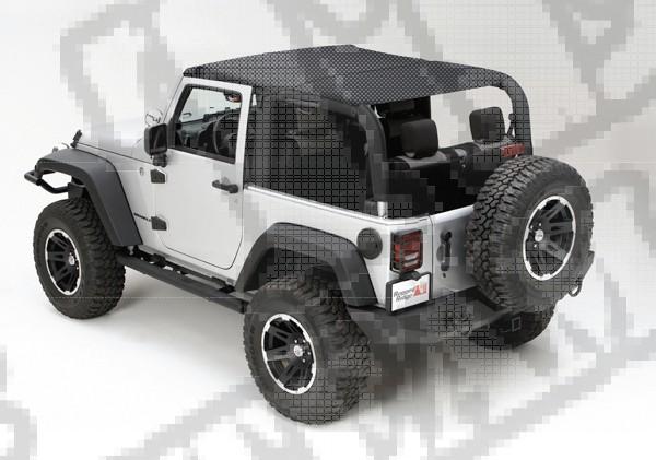 Dach siatkowy typu Island Top 10-15 Jeep Wrangler JK