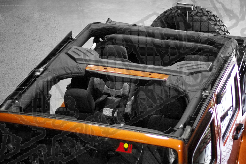 Osłona pałąku, winyl, 07-15 Jeep Wrangler Unlimited (JK)