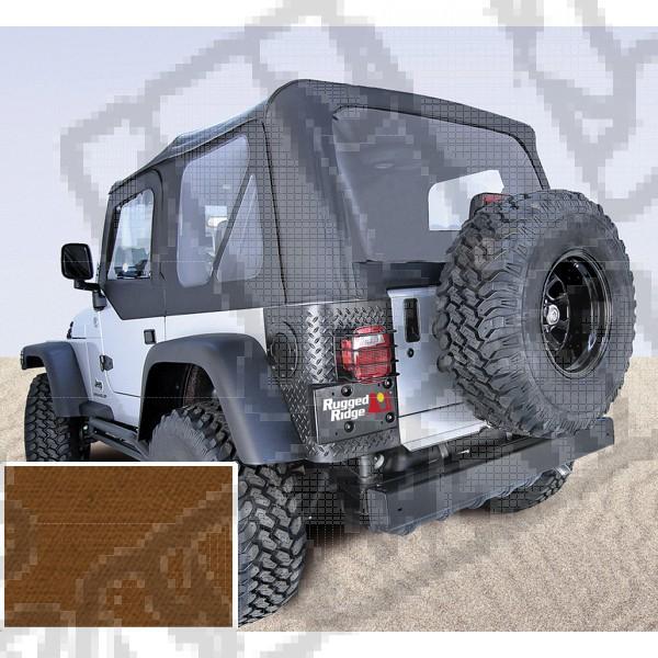 Miękki dach XHD dark tan 97-06 Jeep Wrangler TJ