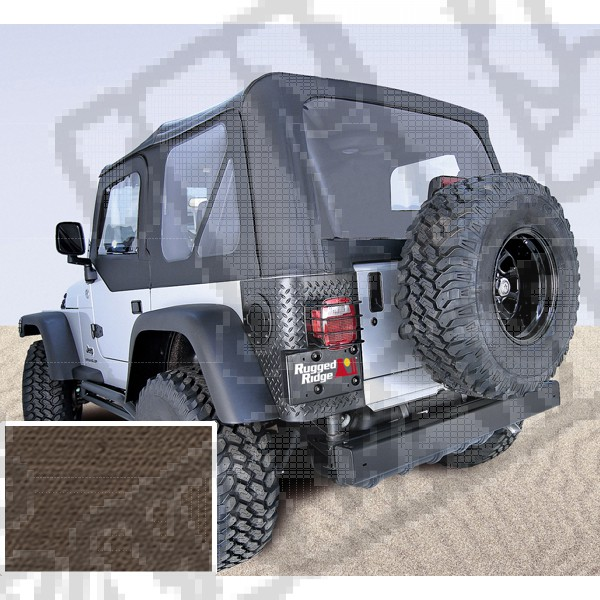 Miękki dach XHD khaki diamond 97-06 Jeep Wrangler TJ