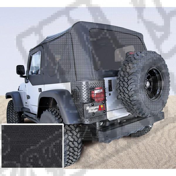 Miękki dach XHD black diamond 97-06 Jeep Wrangler TJ