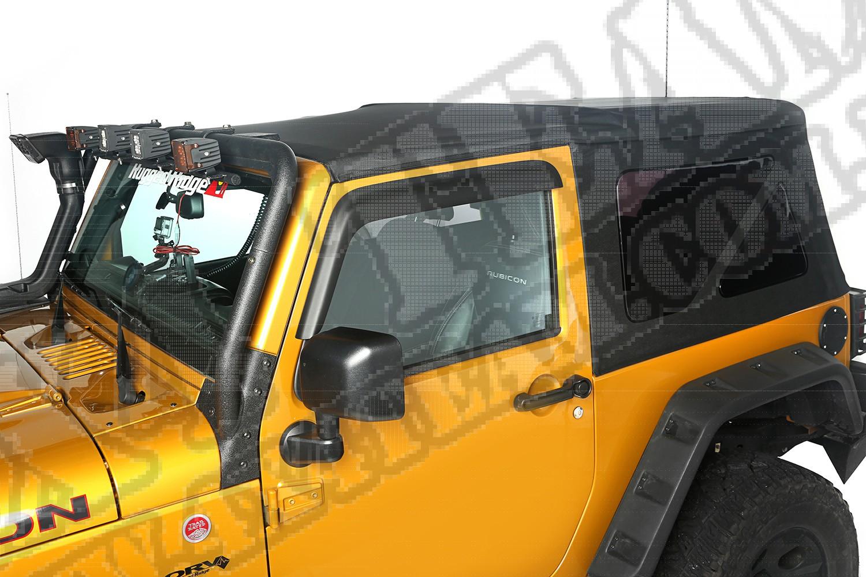 Plandeka brezentowa, Black Diamond, 10-15 Jeep Wrangler 2-Drzwiowy