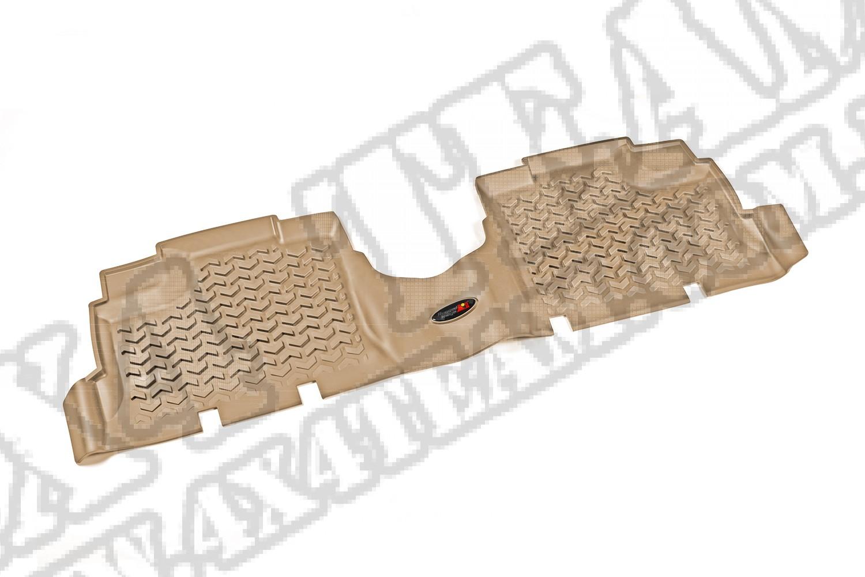 Dywanik, tył, jasny brąz (tan), 07-15 Jeep Wrangler Unlimited (JK)