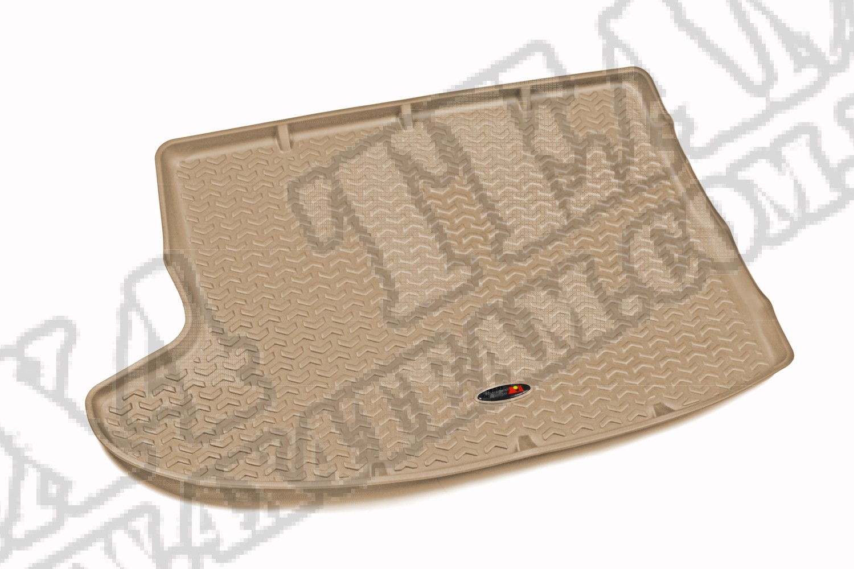 Dywanik bagażnika, jasny brąz (tan), 07-15 Jeep Compass/Patriot (MK)