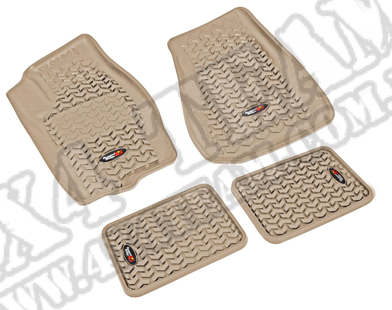 Zestaw dywaników, jasny brąz (tan), 05-10 Jeep Grand Cherokee (WK)