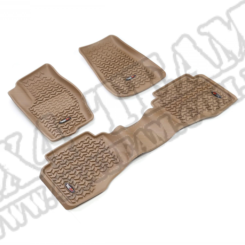 Zestaw dywaników, jasny brąz (tan),05-10 Gr.Cherokee/06-10 Commander