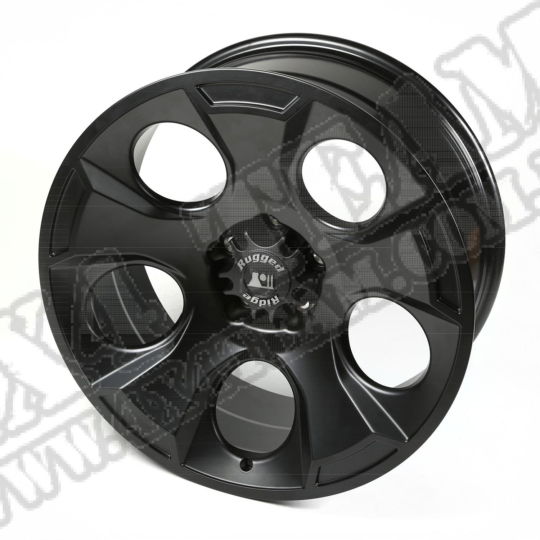 "Felga aluminiowa Drakon 20x9"" 5x5 black satin 07-18 Jeep Wrangler JK/JL"