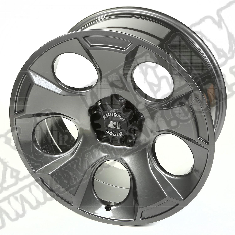 """Felga aluminiowa Drakon 20x9"""" 5x5 gun metal 07-18 Jeep Wrangler JK/JL"""