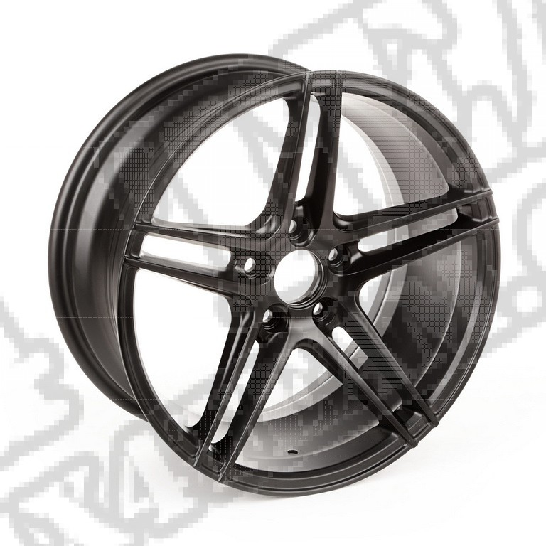 5 Spoke, felga aluminiowa Trek, czarna; 14-17 Jeep Renegade BU