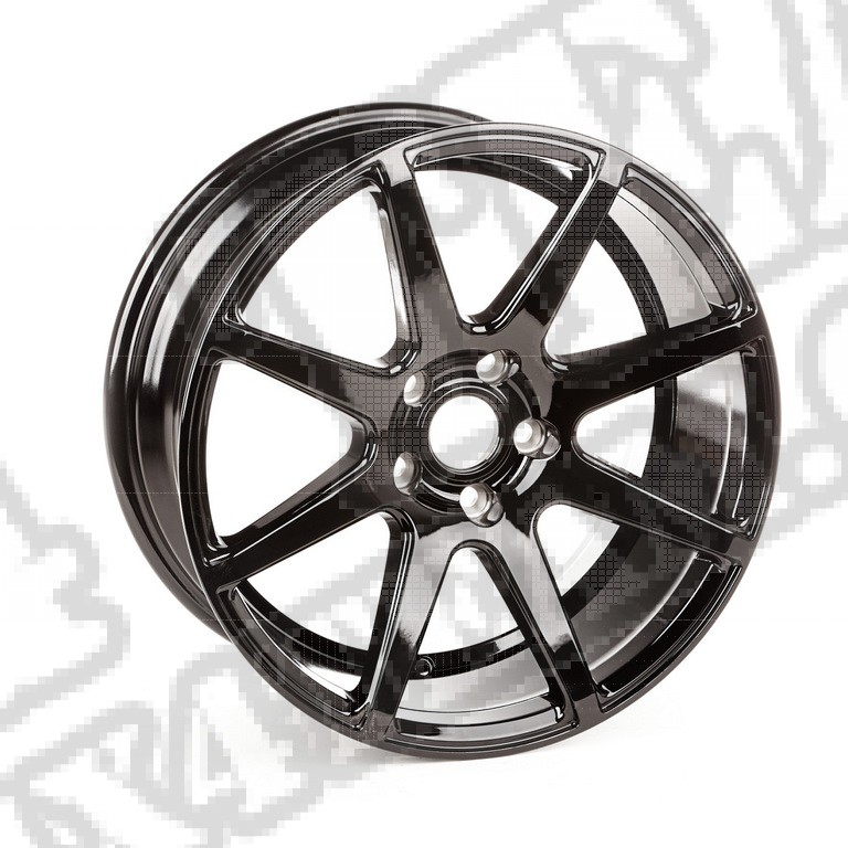 8 Spoke, felga aluminiowa Trek, czarna; 14-17 Jeep Renegade BU