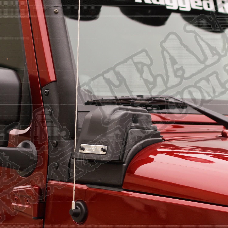 Snorkel XHD niski, 3.6L, 12-15 Jeep Wrangler JK