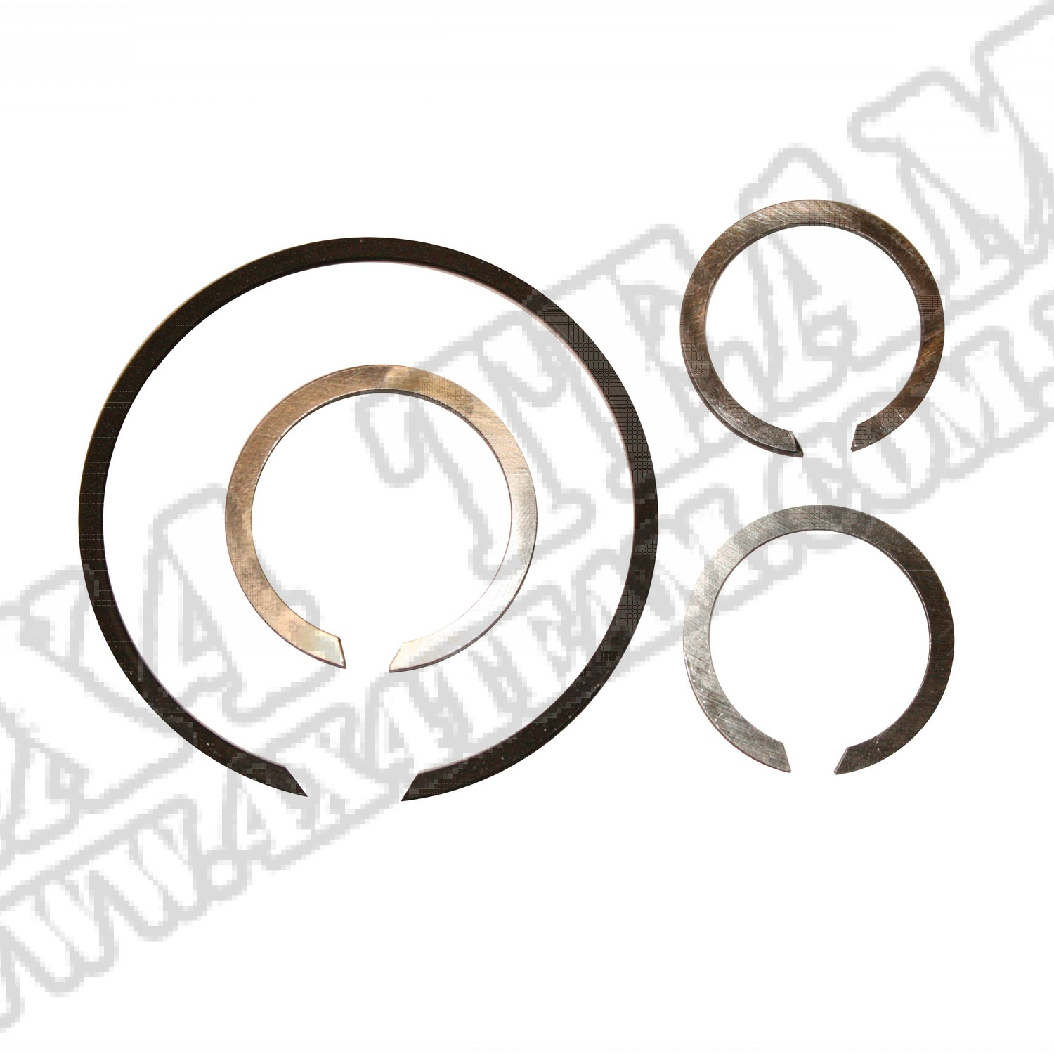 Transmission Input Shaft Snap Ring Kit, T90; 46-71 Willys/Jeep