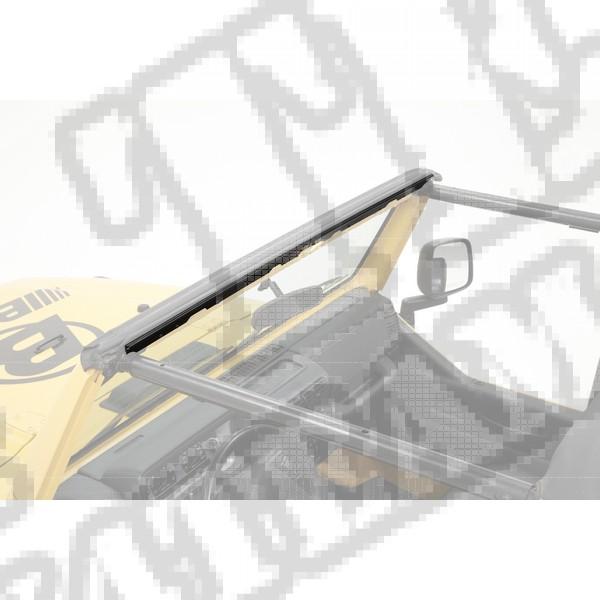 Listwa przednia mocująca plandekę 97-02 Jeep TJ Wrangler