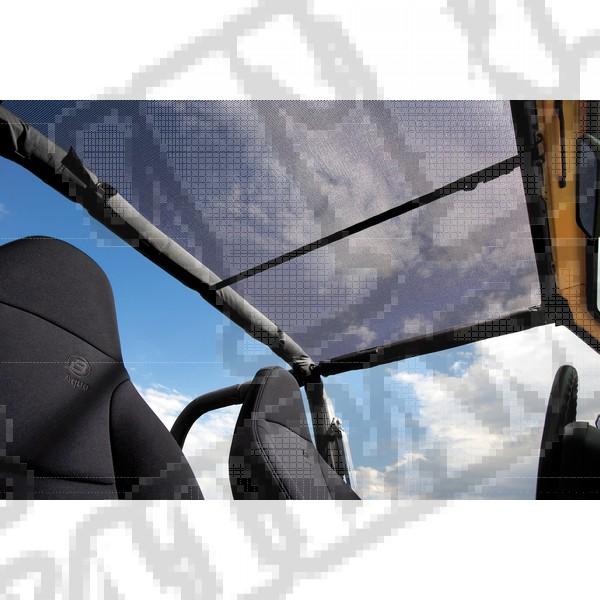 Daszek Header Bikini Czarny Siatkowy 97-02 Jeep TJ Wrangler