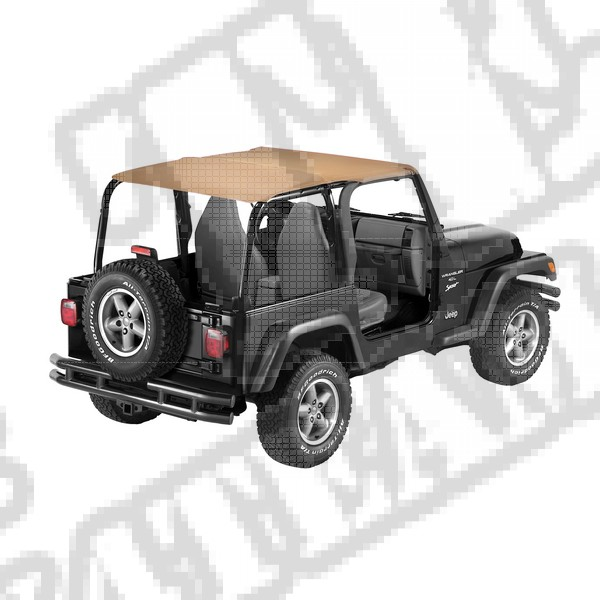 Daszek Safari Bikini Spice 97-02 Jeep TJ Wrangler