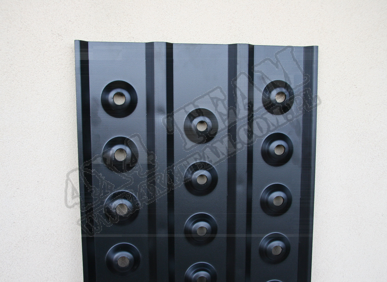 Trapy aluminiowe - krótkie