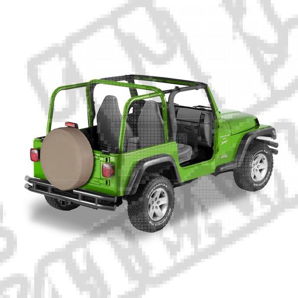 30 Inch Tire Cover Dark Tan