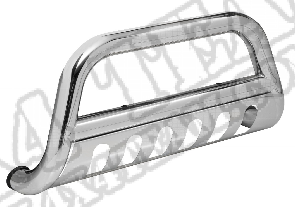 Bull Bar, 2.5 Inch, Stainless Steel; 11-13 Jeep Grand Cherokee WK