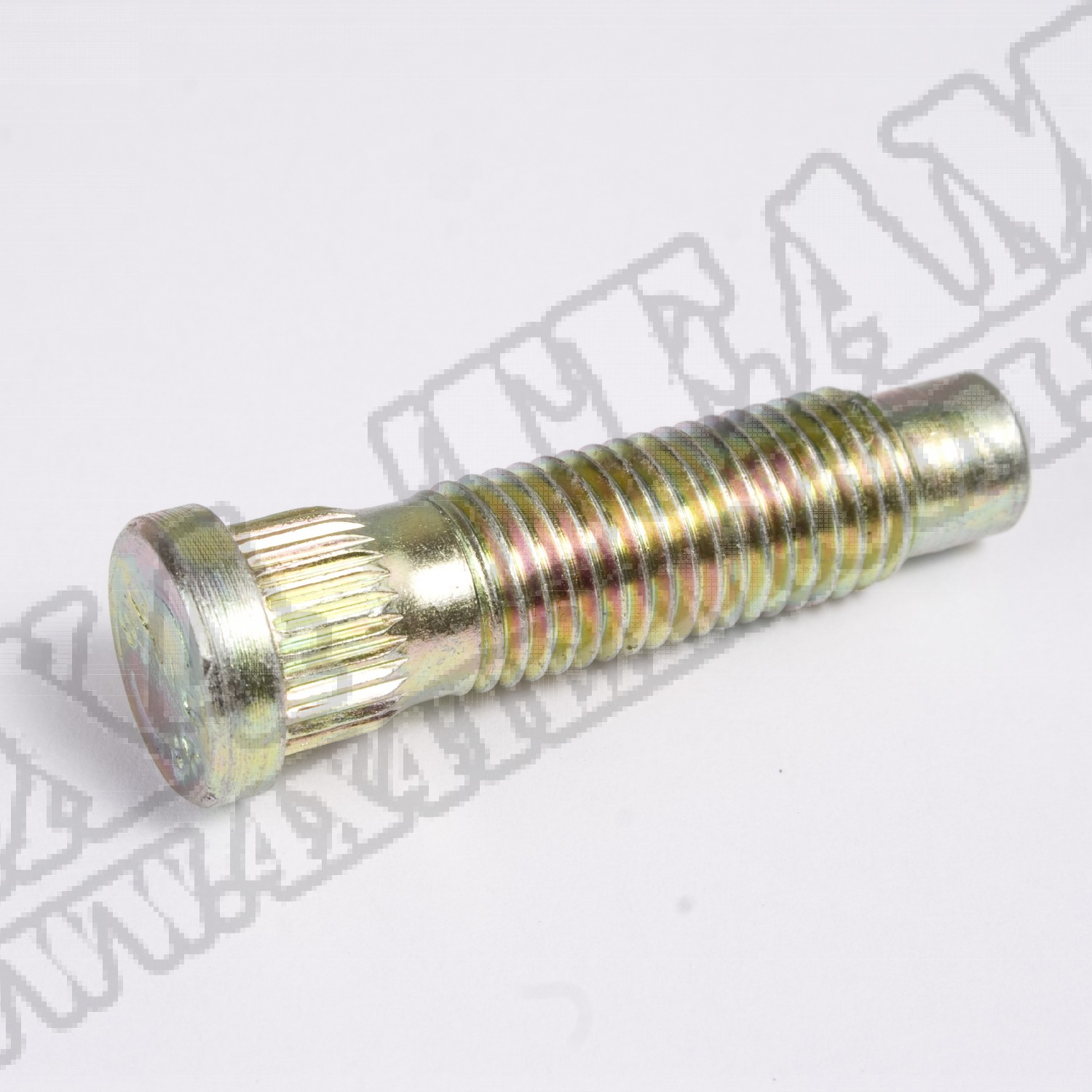 Wheel Stud, .509 Knurl, 12mm-1.5, Universal