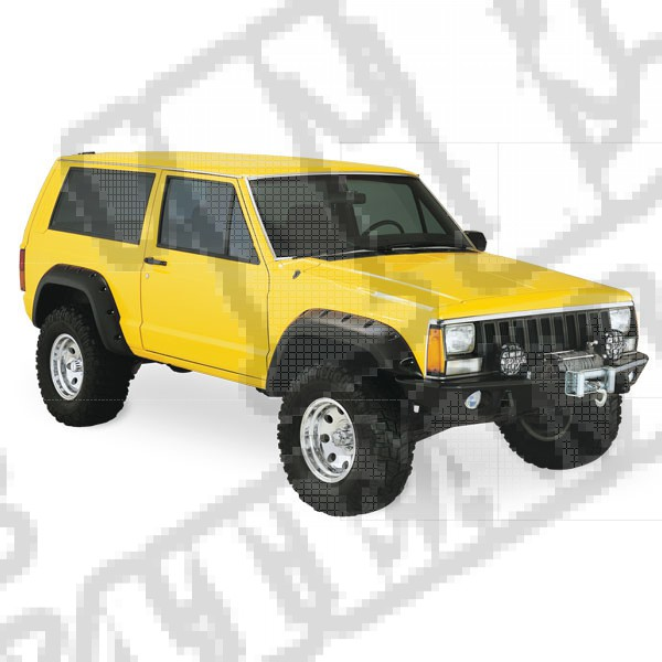 Fender Flare Kit 84-01 Jeep 2-Door Cherokee And Comanches