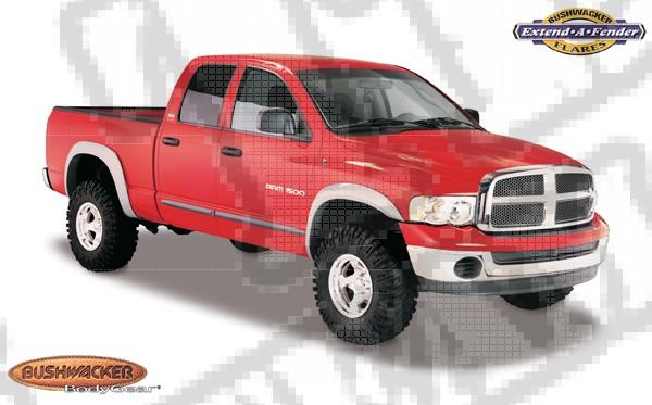 Zestaw nakładek błotników 02-05 Dodge Ram 1500 Pickup