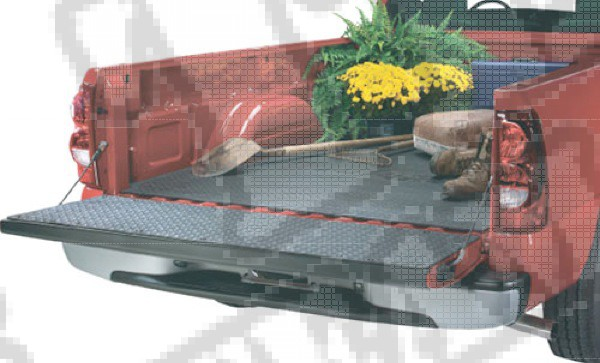 Pickup Truck Bedmat; 83-11 Ford Rangers and Mazda Pickup