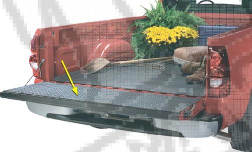 Pickup Truck Tailgate Protector; 94-12 Dodge Ram Pickup