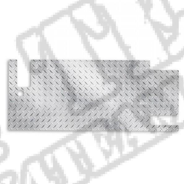 Poszycie tylnej klapy, aluminium  76-86 Jeep CJ7